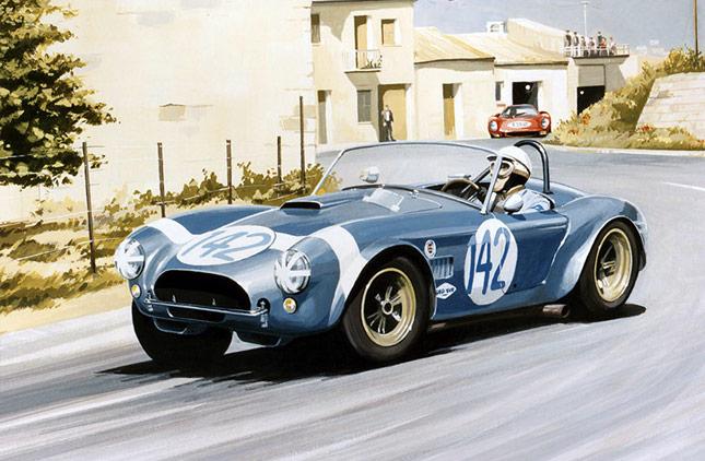 Martin Tomlinson Motor Racing Artist Portfolio Website